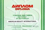 Диплом участника выставки «Красота без границ 2003»
